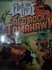 Flick'em Up Red Rock Tomahawk Expansion - Pretzel Games Board Game New!
