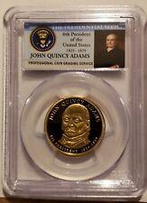 2008-S John Quincy Adams Presidential Dollar PCGS PR70 DCAM