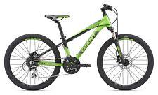 "GIANT XTC SL Jr 24"" verde bici bambino ragazzo mtb mountain bike freni disco"