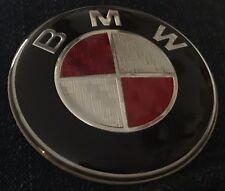 BMW RED CARBON FIBRE STEERING WHEEL REPLACMENT ADHEASIVE STICKER BADGE LOGO 45mm