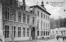 Postkaart - Brussel - Expo 1910 - Paviljoen van de stad Antwerpen
