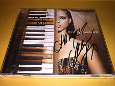 The DIARY OF ALICIA KEYS autographed SIGNED to SCEAN ELLIS (ebony media) CD