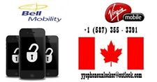 [FAST] Bell/Virgin Unlock Code 1-4 HOURS [SAMSUNG SONY BLACKBERRY ZTE HTC LG]