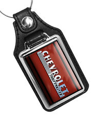 CHEVROLET THRIFTMASTER CAR EMBLEM FAUX LEATHER KEY RING KEYCHAIN MADE IN USA