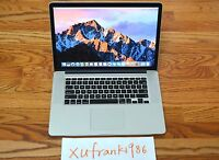 "Apple MacBook Pro 15"" RETINA i7 QUAD 2.7GHz-3.7Ghz 16GB 768GB SSD ~250 cycles"
