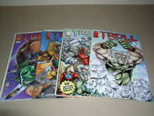 Image Comics, Troll, Lot of 4, Once a Hero, Troll Halloween Special  NM+