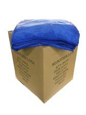 240 Microfiber Dark Blue 16x16 Cleaning Detailing Cloths Towel Auto Car 300GSM