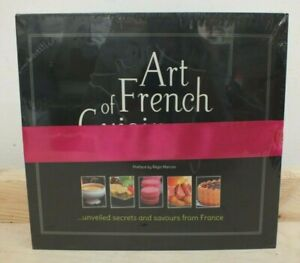 Art of French Cuisine Cookbook Set Volumes 1 & 2 - New Sealed RRP £95 (Hol)