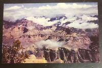 Beautiful Clouds Of Storm Vintage Grand Canyon Arizona AZ Postcard