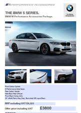 BMW Genuine F10 M Performance Body Kit With 464M Ferric Grey Wheels
