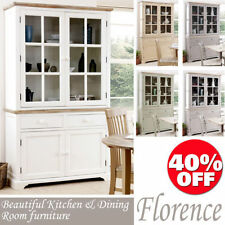 More than 200cm Height Pine Kitchen Display Cabinets
