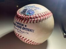 8/13/20 Game Used Baseball from MOOKIE BETTS Sixth 3HR Game MLB Authenticated #2