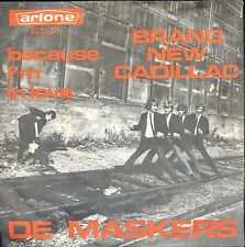 7inch DE MASKERS brand new cadillac HOLLAND EX +PS DUTCH BEAT 60'S