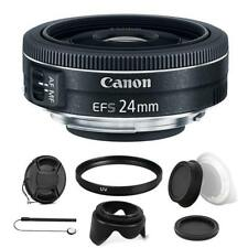 Canon EF-S 24mm f/2.8 STM Lens with Kit For Canon Rebel T3i, T5 and T5i