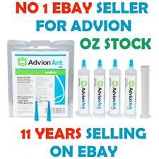 Genuine Advion Ant Syngenta Gel 4 x 30g  + 1 Plunger + 2 Tips