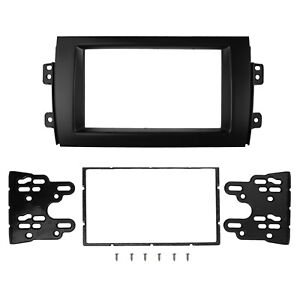 Double Din Fascia for Suzuki SX4 Fiat Sedici Radio DVD Stereo Panel Dash Kit