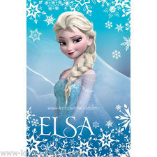Disney Frozen Fleecedecke Decke 4 Kinder Elsa Kinderdecke 100x150 Kuscheldecke