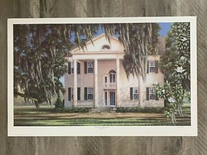 Jim Booth - Southern Plantation - Sold Out S/N Print