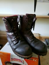 Used red wing boots 12