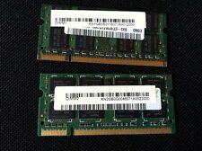 2 x 1GB DDR2 Modulo, M470T2953CZ3-CE6, PC2-5300 SODIMM per Acer Travelmate 7520G