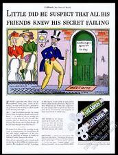 1933 Life Savers Wint-O-Green Pep-O-Mint candy John Held Jr art vintage print ad