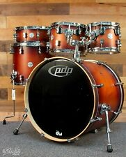 PDP Concept Maple Shell Pack - 5-piece - Satin Tobacco Burst