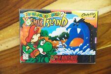 Super Mario World 2: Yoshi's Island SNES Super Nintendo CIB Complete Box Manual
