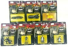 ERTL 1992 Die Cast Metal Batman Returns Batmobile, Batmissle, Catwoman & More