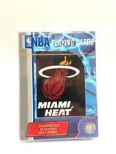 MIAMI HEAT - PLAYING CARD DECK - 52 CARDS NEW - NBA BASKETBALL