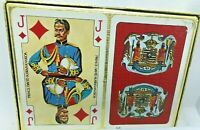 vintage hawaiian picture photo 12 kings queen jack royal 2 deck playing cards bl