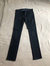 7 For All Mankind Designer ladies Jeans In Black, size 27W, 34L