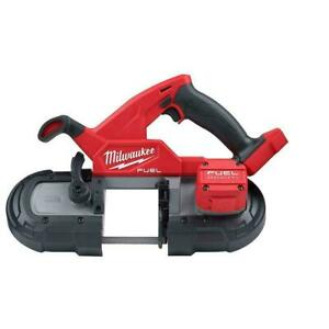 Milwaukee 2829-20 M18 18V Fuel Brushless Cordless Compact Band Saw (Tool Only)