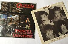 Queen Freddie Mercury Princes of the Universe & I Want to Break Free Vinyl 45rpm
