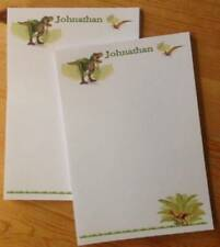 Personalised stationery letter writing paper - Dinosaurs Jurassic