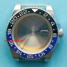 40mm Bliger SS Watch Case Fit ETA 2836DG2813/3804Miyota 8215 Movement-bai001