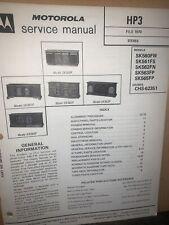 Motorola Stereo Phono -Service Manual- For SK560FW,SK561FS,SK562FN,SK563FP