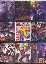 Spiderman Fleer Ultra 2017 Complete Milestones Chase Card Set M1-M12