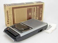 Panasonic RQ-2739 Magnétohone Cassette Corder Enregistreur (Réf#A-769)