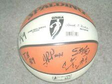 Washington Mystics 2013 Team Autographed WNBA Ball  COA/PROOF*