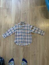 burberry nova check shirt