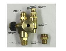 Air Compressor pilot unloader check valve combo 100-125