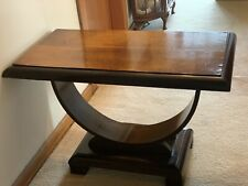 1920's Large Art Deco U Table / Coffee Table
