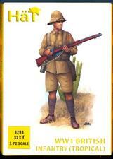 HaT Miniatures 1/72 WORLD WAR I BRITISH INFANTRY (TROPICAL) Figure Set