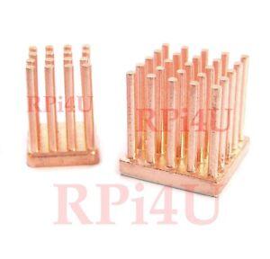 Raspberry Pi Heatsink Kit 100% Forged Copper  Overclock to the Max !
