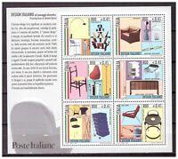 s18011) ITALIA REPUBBLICA 2000 MNH** Italian design S/S