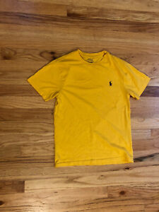 Polo Ralph Lauren Youth T-Shirt Size M (10-12) Yellow