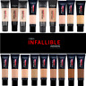 L'Oréal Infallible 24H Matte Cover Foundation 30ml Pick Your Shade
