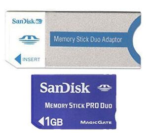 SANDISK 1GB Memory Stick PRO FOR Sony Cybershot DSC-P52 DSC-P72 DSC-P73 DSC-P8