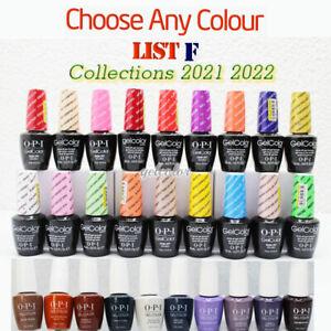 OPI GELCOLOR Soak Off UV LED Gel Polish 15ml 0.5oz - Choose ANY Colour * PART F