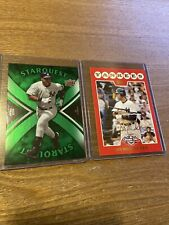 DEREK JETER 2008 UD Starquest GREEN #SQ9 & Topps Open Day Red #105 Yankees (v)